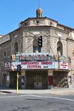 Warnorstheater, Fresno Royalty-vrije Stock Afbeeldingen