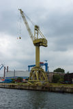 Warnow Werft Immagine Stock Libera da Diritti