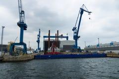 Warnow Werft Стоковая Фотография