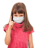Warns of flu Stock Photo