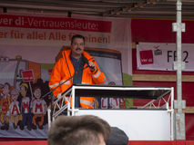 Warnstreik Verdi_20160427 Stockfotos