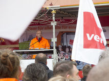 Warnstreik Verdi_20160427 Royalty Free Stock Image