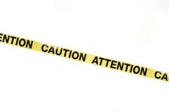 Warnzeichen Stockfotos