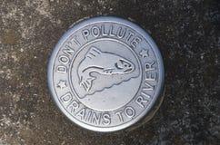 Warnzeichen der möglichen Verschmutzung Lizenzfreie Stockfotos