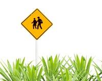 Warnzeichen der Schule Lizenzfreie Stockfotos