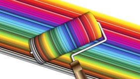 Frische Farbe! lizenzfreie abbildung
