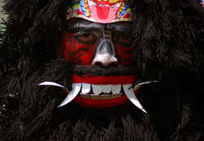 Warok performer in central Java Stock Images