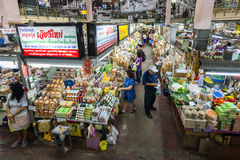 Warorot市场 库存图片