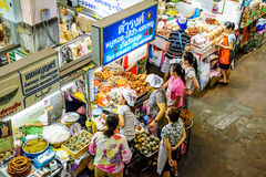 Warorot Market. Stock Images