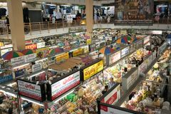 Warorotmarkt in Chiang Mai, Thailand Royalty-vrije Stock Afbeeldingen