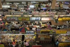 Warorotmarkt in Chiang Mai, Thailand Royalty-vrije Stock Foto's