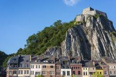 Warowna cytadela w Dinant, Belgia zdjęcia stock