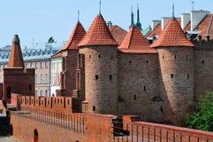 warowna średniowieczna placówka Zdjęcie Royalty Free