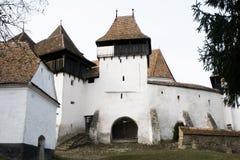 warowny kościół viscri Obraz Royalty Free