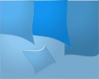 Warp blue background Stock Photography