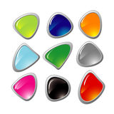Warp buttons Royalty Free Stock Photo