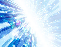 Warp Speed Abstract Background Royalty Free Stock Images