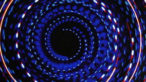 Warp Speed Spiral Animation Background stock footage