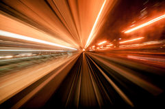 Warp Speed Royalty Free Stock Photography