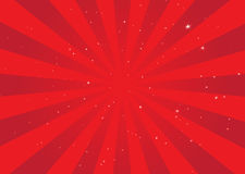 Warp speed vector illustration Royalty Free Stock Photos
