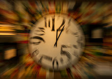 Warped Time Stock Photo