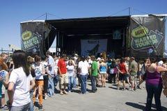 Warped Tour 2008 - Salt Lake City , Utah Royalty Free Stock Photography