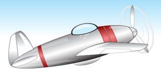 Warplane in sky Royalty Free Stock Photography