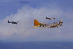 warplanes Arkivfoton