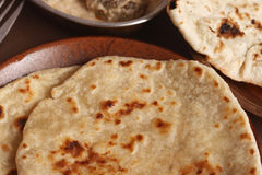 Warqui Paratha or the layered paratha from India Stock Image