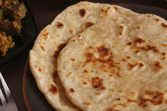 Warqui Paratha or the layered paratha from India Stock Photography