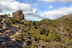 Warrabungle National Park in Australia. Warrabungle National Park NSW Australia Stock Photo