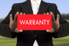 Warranty Royalty Free Stock Image
