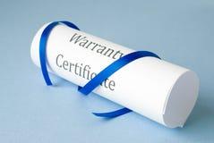 Warranty Royalty Free Stock Photo