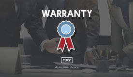 Warranty Guarantee Guaranty Quality Certificate Concept Stock Images