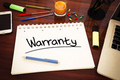 Warranty Royalty Free Stock Photography