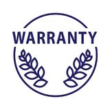 Warranty icon, Vector illustration. On white background Stock Photography