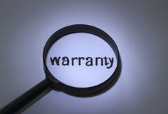 Warranty Royalty Free Stock Photography
