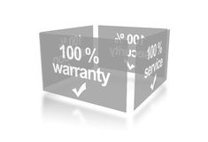 Warranty, service, security Royalty Free Stock Photography