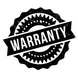 Warranty stamp rubber grunge Royalty Free Stock Photo