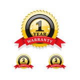Warranty symbols Royalty Free Stock Photos