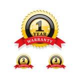 Warranty symbols Royalty Free Stock Photos