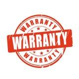 Warranty vector stamp Stock Photo