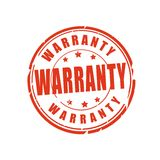 Warranty vector stamp Stock Photography