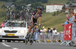 Warren Bargill  Tour de France 2015 Stock Images