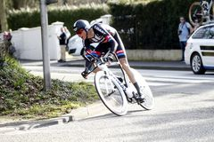 Warren Barguil Cyclist French Royalty Free Stock Photos