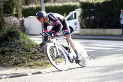 Warren Barguil Cyclist French Stock Images
