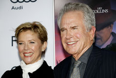 Warren Beatty and Annette Bening. At the AFI FEST 2016 Opening Night Premiere of `Rules Don`t Apply` held at the TCL Chinese Theatre in Hollywood, USA on Royalty Free Stock Photos