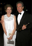 Warren Beatty and Annette Bening Royalty Free Stock Images