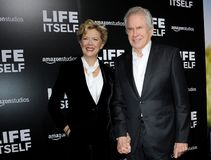 Warren Beatty and Annette Bening Stock Image