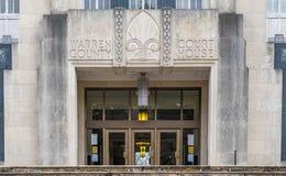 Warren County Courthouse i Vicksburg Mississippi Royaltyfri Fotografi